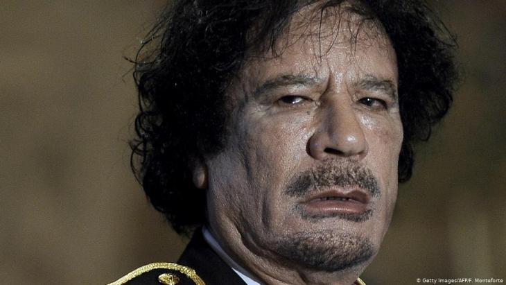 Libyens Langzeitdiktator Muammar al-Gaddafi; Foto: Getty Images/AFP