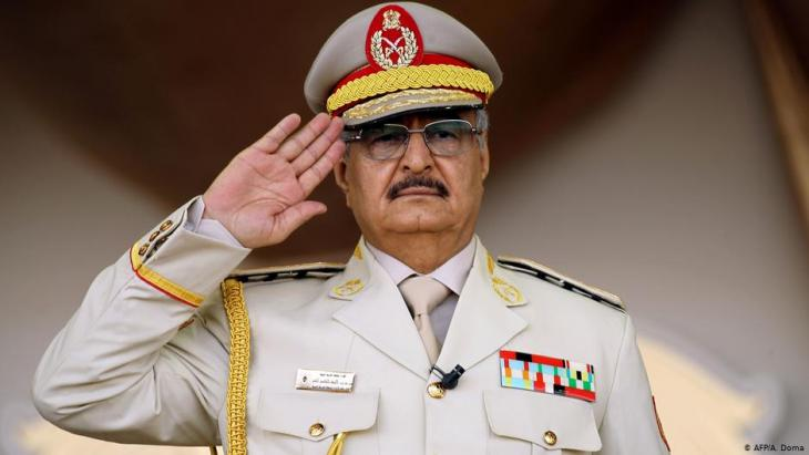 General Khalifa Haftar; Foto: AFP