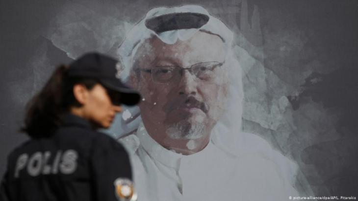 Jamal Khashoggi wurde im saudischen Konsulat in Istanbul ermordet. Saudi-Arabien bestreitet, dass MbS den Mord in Auftrag gegeben habe; Foto: picture-alliance/dpa