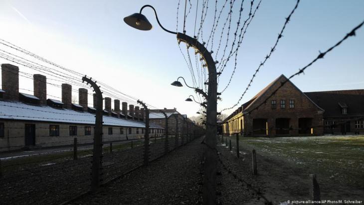 Das ehemalige Konzentrationslager Auschwitz; Foto: picture-alliance/AP
