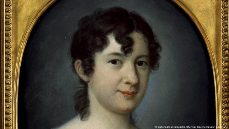 Gemälde von Johann Jacob von Lose zeigt Marianne von Willemer, die am 6.12.1832 verstarb; Foto: picture-alliance/dpa