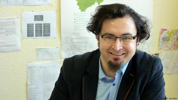 Islamwissenschaftler Mustafa Doymus; Foto: DW