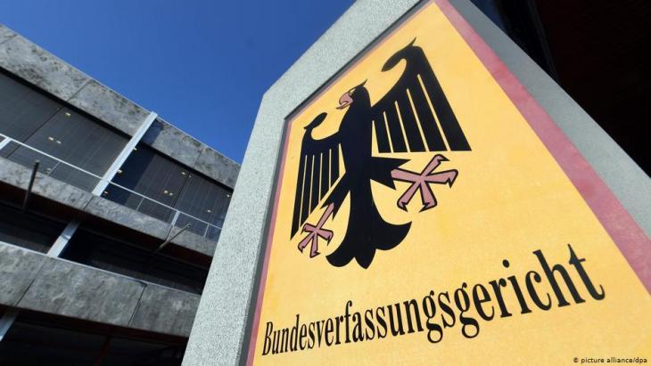 Bundesverfassungsgericht in Karlsruhe; Foto: picture-alliance/dpa