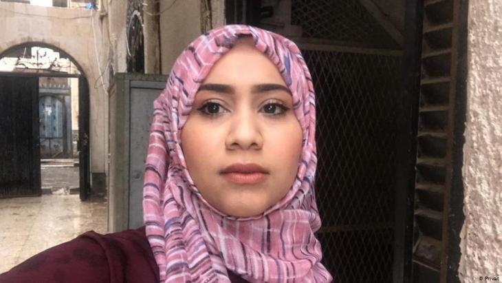 Amal Yarisi, Journalistin aus Sanaa; Foto: privat