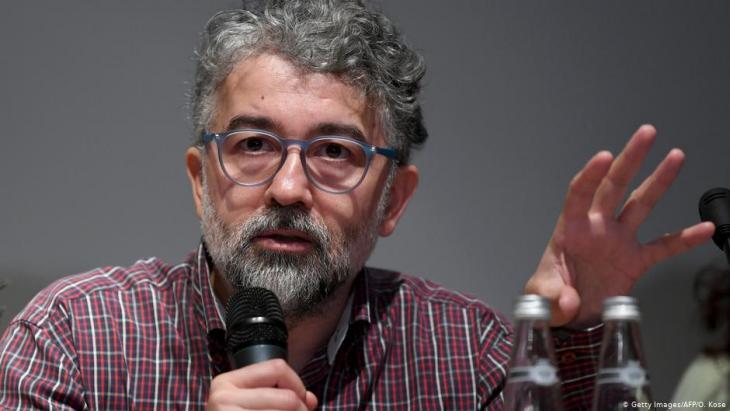 Türkei-Vertreter von Reporter ohne Grenzen, Erol Önderoğlu; Foto: Getty Images/AFP