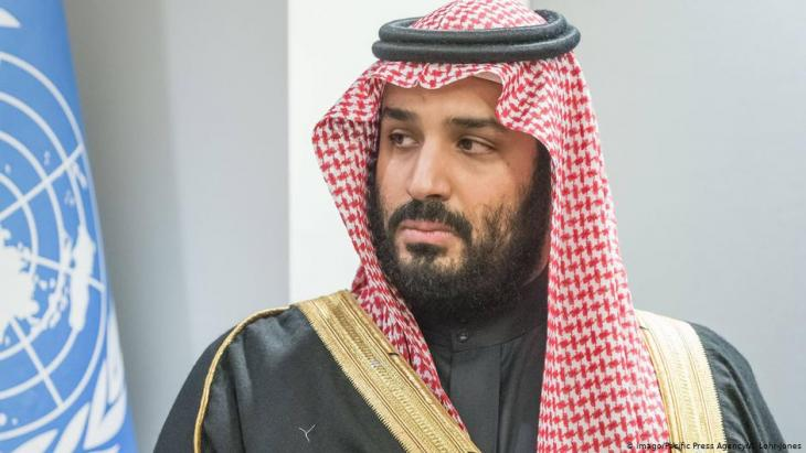 Saudi-Arabiens Kronprinz Mohammed bin Salman; Foto: Imago