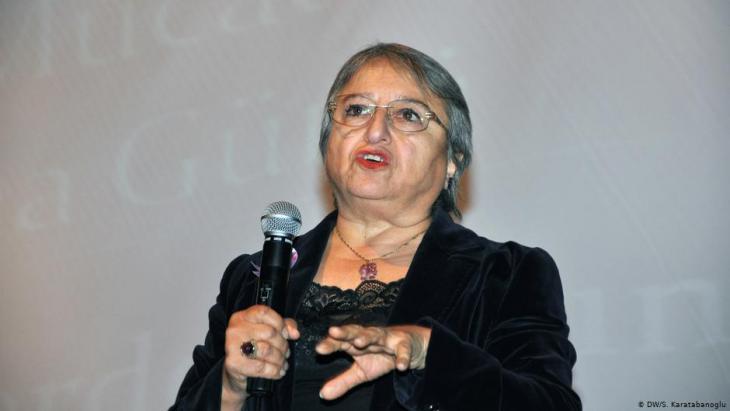 Canan Arin, Gründerin eines Verbandes zum Schutz der Frau; Foto: DW