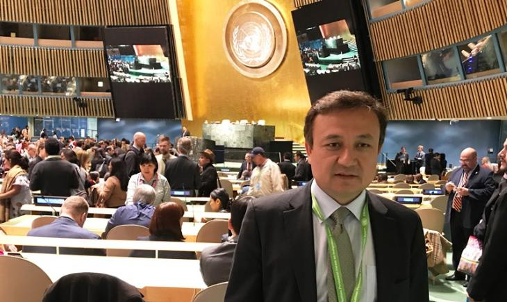 Dolkun Isa, Präsident des Weltkongresses der Uiguren; Foto: Dolkun Isa