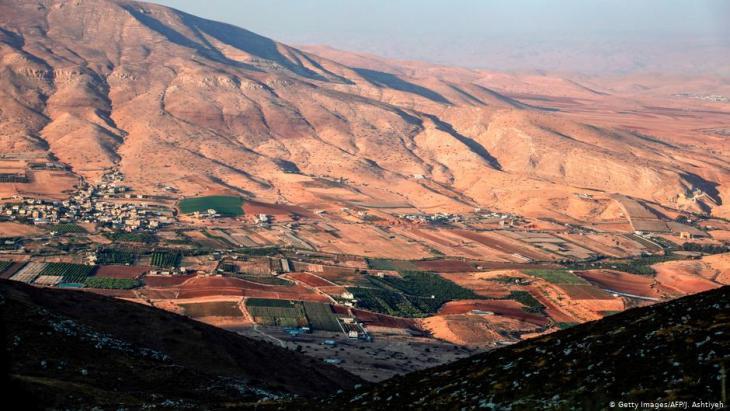 Blick auf das Jordantal; Foto: AFP/Getty Images