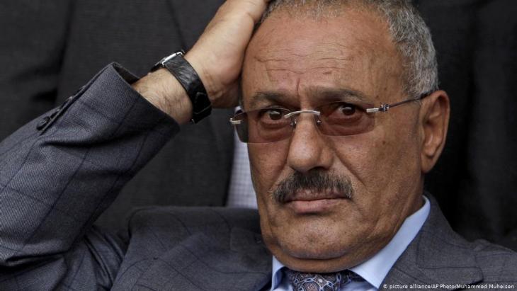 Jemen ehemaliger Präsident Ali Abdullah Salih; Foto: picture-alliance/AP
