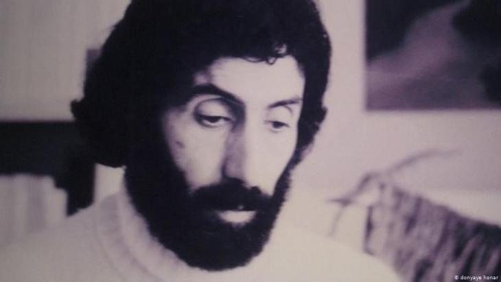 Sohrab Sepehri, iranischer Dichter (1928-1980); Quelle: donyaye honar
