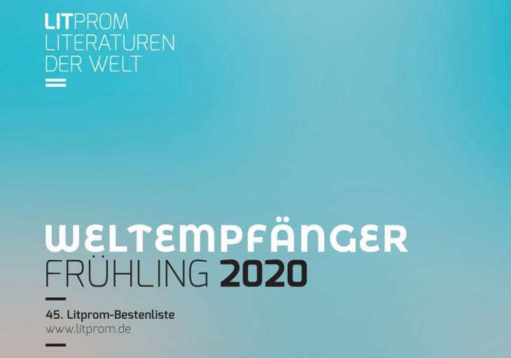 Logo Weltempfänger 2020, Quelle: www.litprom.de