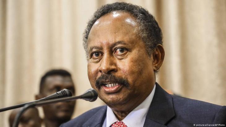 Sudans Ministerpräsident Abdalla Hamdok; Foto: picture-alliance/AP Photo