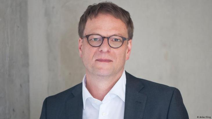 Hendrik Cremer vom Deutschen Institut für Menschenrechte; Foto: Anke Illing