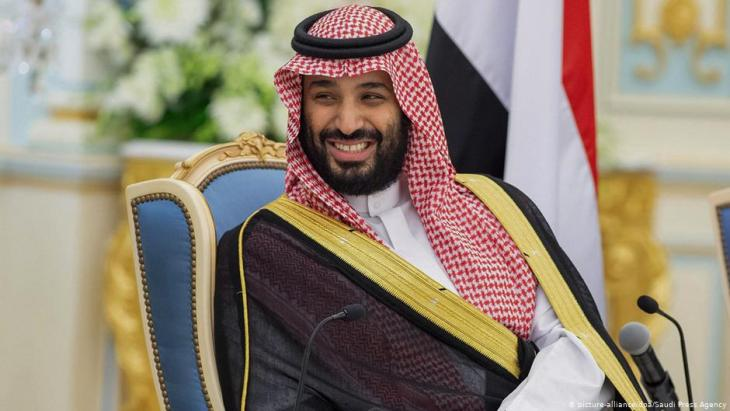 Der saudische Kronprinz Mohammed bin Salman; Foto: picture-alliance/dpa
