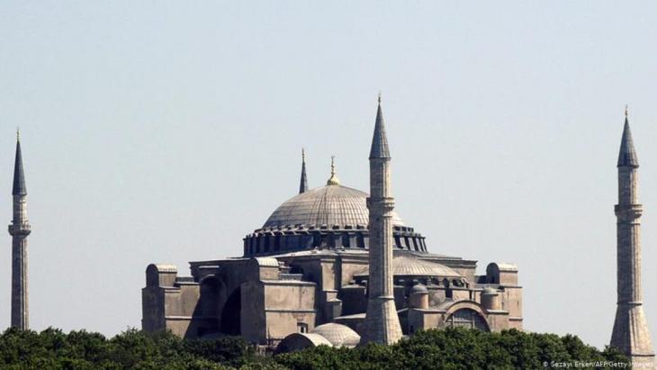 Foto einer Moschee; Foto Sezayi Erkan/AFP/Getty Images