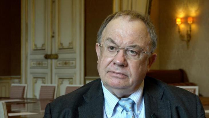 Der französische Islamismusforscher Olivier Roy; Quelle: YouTube