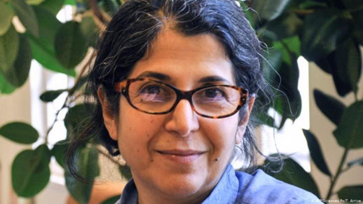 Die im Iran inhaftierte französisch-iranische Forscherin Fariba Adelkhah; Foto: AFP/Sciences Po/T.Arrive