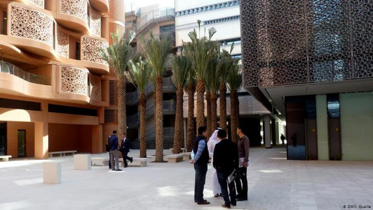 Das Masdar Institute in Masdar City; Foto: DW