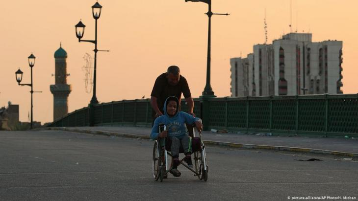 Irak Coronavirus; Foto: picture-alliance/AP Photo/H. Mizban