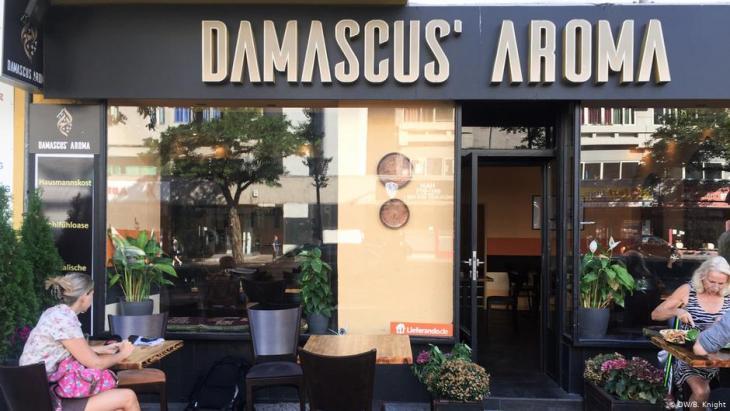 Das Restaurant Damascus Aroma bringt ein Stück Syrien nach Berlin; Foto: DW/Ben Knight