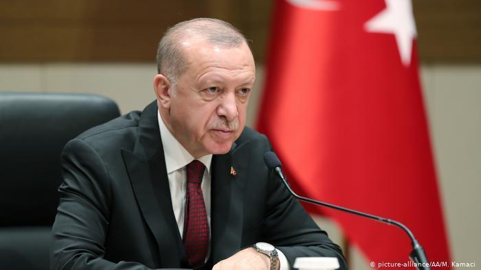 Der türkische Präsident Erdoğan; Foto: picture-alliance/AA