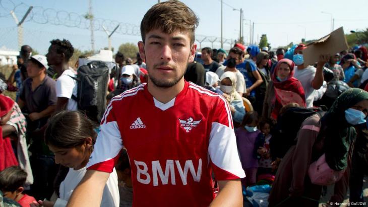 Muhammad Sator Massi kam aus Afghanistan nach Lesbos; Foto: Henning Goll/DW