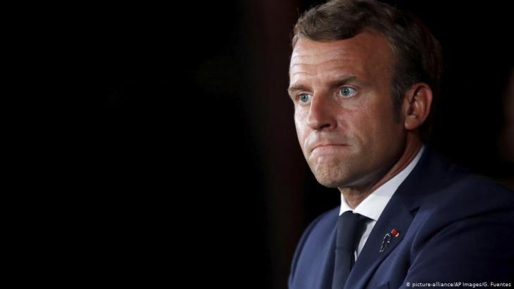 Frankreichs Präsident Emmanuel Macron; Foto: picture alliance/AP Images/G. Fuentes