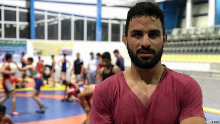 Der im Iran hingerichtete Ringer Navid Afkari; Foto: UGC