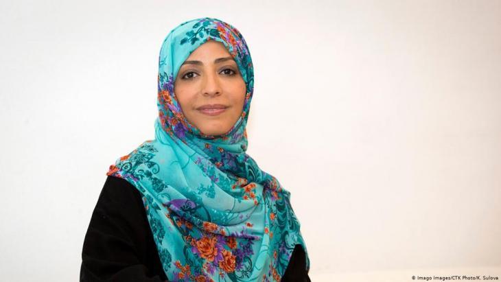 Friedensnobelpreisträgerin Tawakkul Karman; Foto: Imago Images