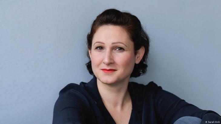 Die Journalistin und Autorin Ferda Ataman; Foto: Sarah Eick