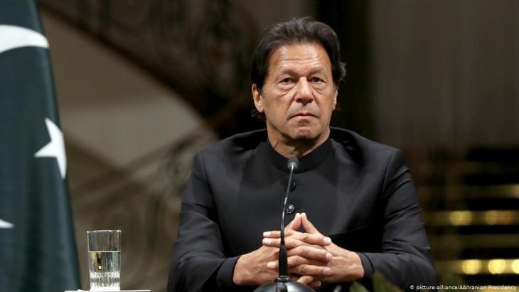 Pakistans Premier Imran Khan; Foto: picture-alliance/AA