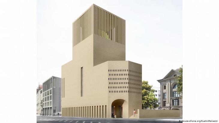 Berlin - geplantes Projekt House of One; Foto: House-of-one.org/KuehnMalvezzi