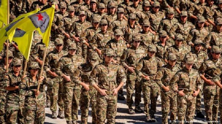 SDF-Kämpfer. Foto: Getty Images/AFP/D. Souleiman