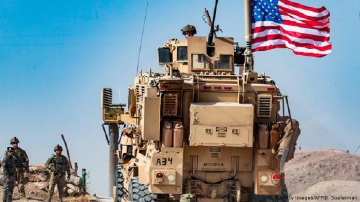 US-Truppen beim Rückzug aus Syrien im Herbst 2019. Foto: Getty Images/AFP/D. Souleiman