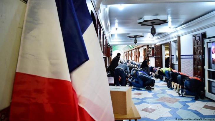 Frankreich Moschee in Lille; Foto: picture-alliance/dpa/S.Mortagne