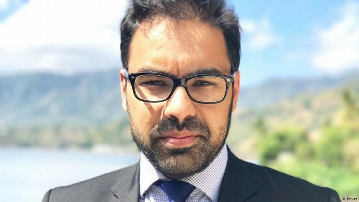 Anwalt Asif Arif; Fotpo: privat