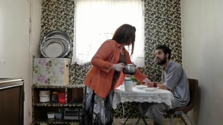 """Eine Szene aus dem irakischen Film """"Waiting"""". Foto: elbarlament"""