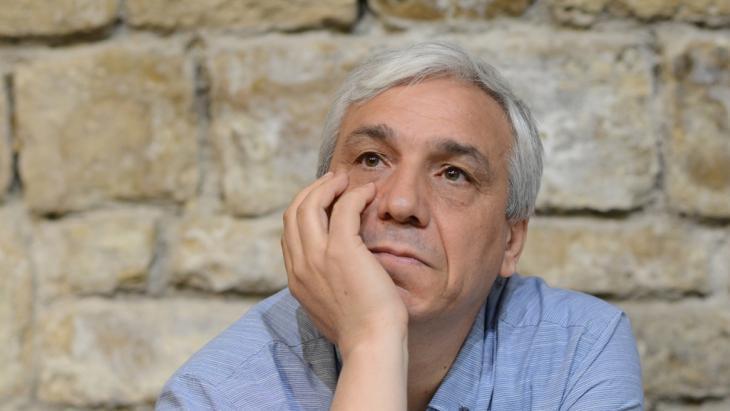 Syrische Autor und Politikwissenschaftler Yassin Al-Haj Saleh. Foto: privat