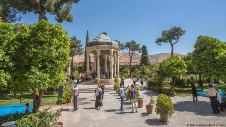 Iran Shiraz Aramgah-e Hafez Mausoleum und Garten (Foto: Picture -Alliance /dpa/ R. J. Fusta)