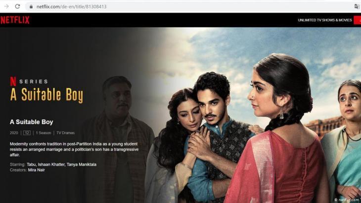 Netflix kassiert Boykottrufe in Indien wegen eines Kusses. (Foto: Netflix.com)