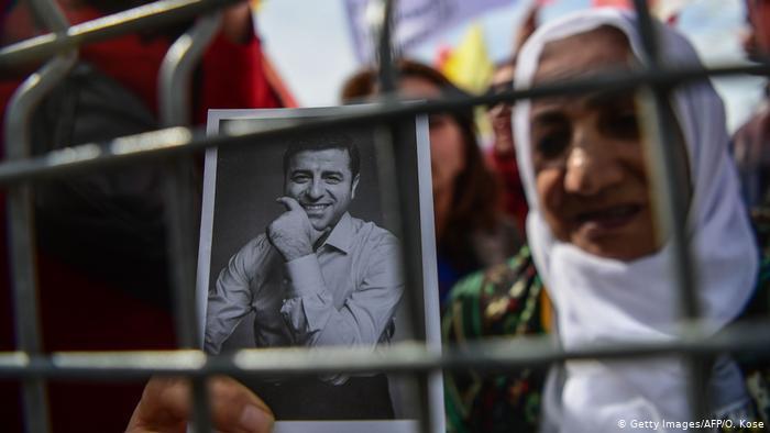HDP-Politiker Selahattin Demirtas war seit vier Jahren im Gefängnis; Foto: Getty Images/AFP/O. Kose