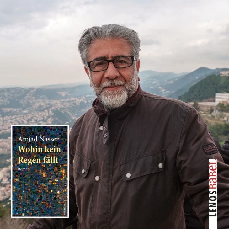 Der jordanische Autor Amjad Nasser war Dichter, Schriftsteller und einflussreicher Kulturjournalist. Foto: Lenos Verlag
