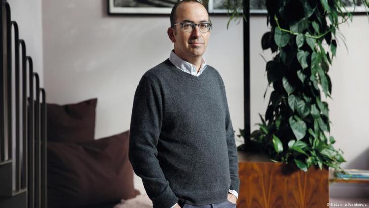 Der israelische Schriftsteller Yishai Sarid. Foto: Katarina Ivanisevic