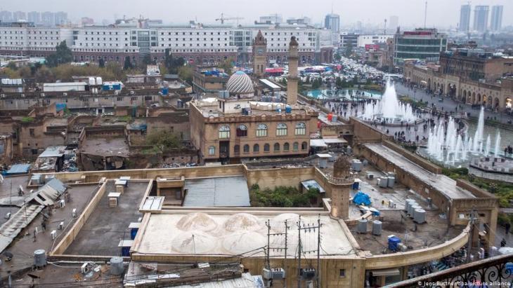 Altstadt von Erbil im Norden Iraks. Foto: picture-alliance/dpa/Jens Buttner