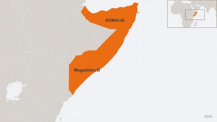 Karte Somalia; Quelle: DW