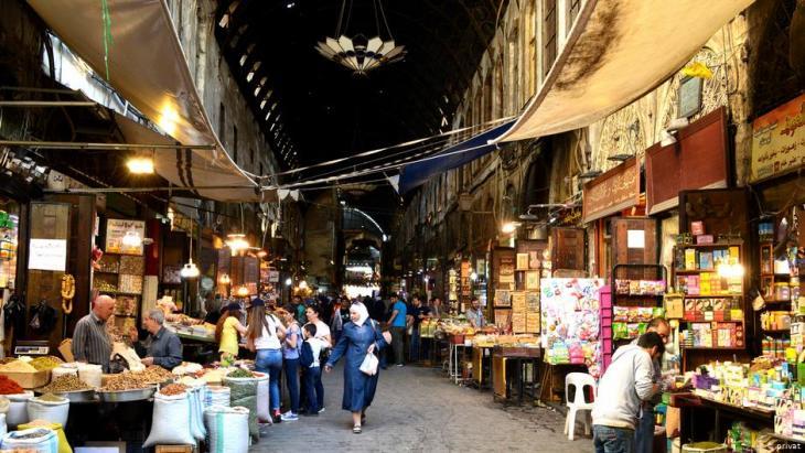 Syrien der alte Markt in Damaskus; Foto: privat