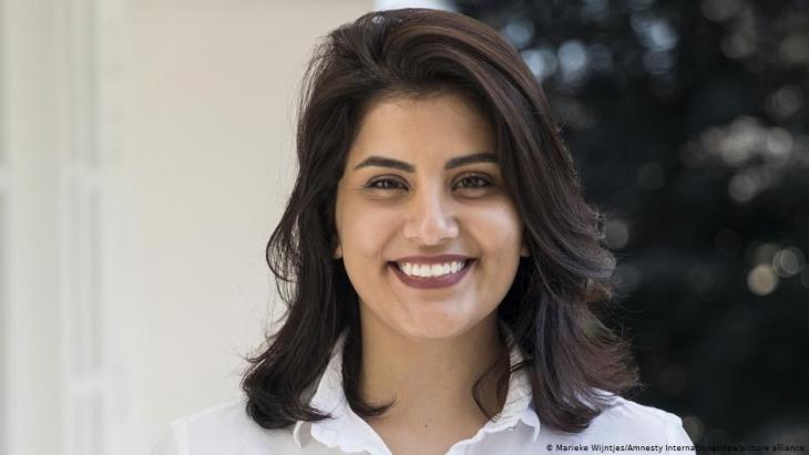 Saudi-arabische Aktivistin Ludschain al-Hathlul; Marieke Wientjes/Amnesty International/dpa/picture-alliance