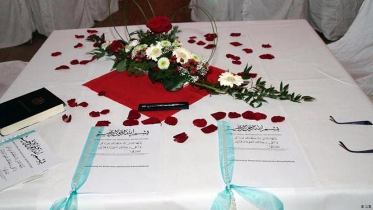 Symbolbild Islamische Eheschließung; Foto: LIB