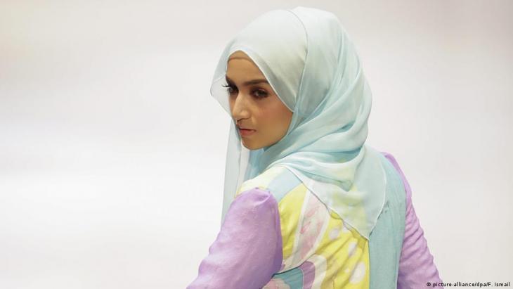 Frau im Hijab; Foto: picture-alliance/dpa/F.Ismail